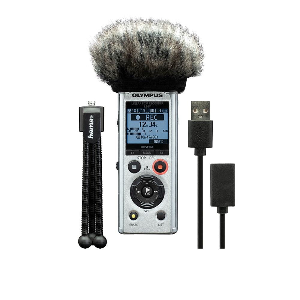 Диктофон Olympus LS-P1 Podcaster Kit (V414141SE030) — V414141SE030