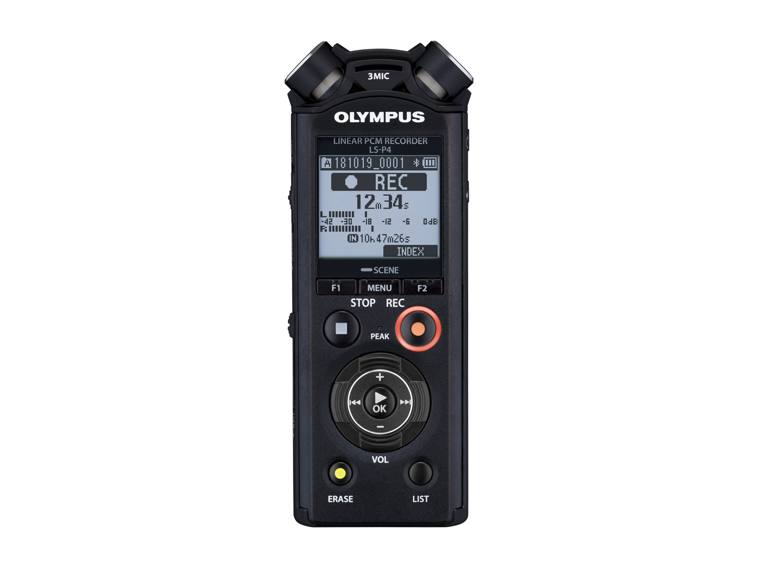 Диктофон Olympus LS-P4 black Linear PCM Recorder (V409160BE000) фото