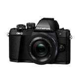 Фотоаппарат Olympus OM-D E-M10 Mark II Pancake Zoom Kit с 14-42 EZ черный