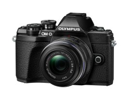 Фотоаппарат Olympus OM-D E-M10 Mark III 14-42IIR Double Zoom Kit с объективами 14-42IIR и 40-150mm черный (V207071BE010)