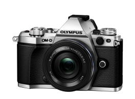 Фотоаппарат Olympus OM-D E-M5 Mark II Pancake Zoom Kit с объективом 14-42 EZ серебристый (V207044SE000)
