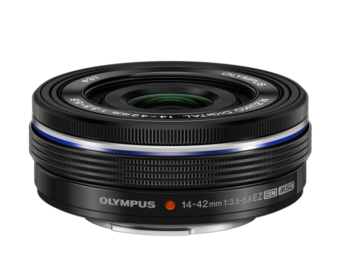 Объектив Olympus M.ZUIKO DIGITAL ED 14-42mm 1:3.5-5.6 EZ черный (V314070BE000)