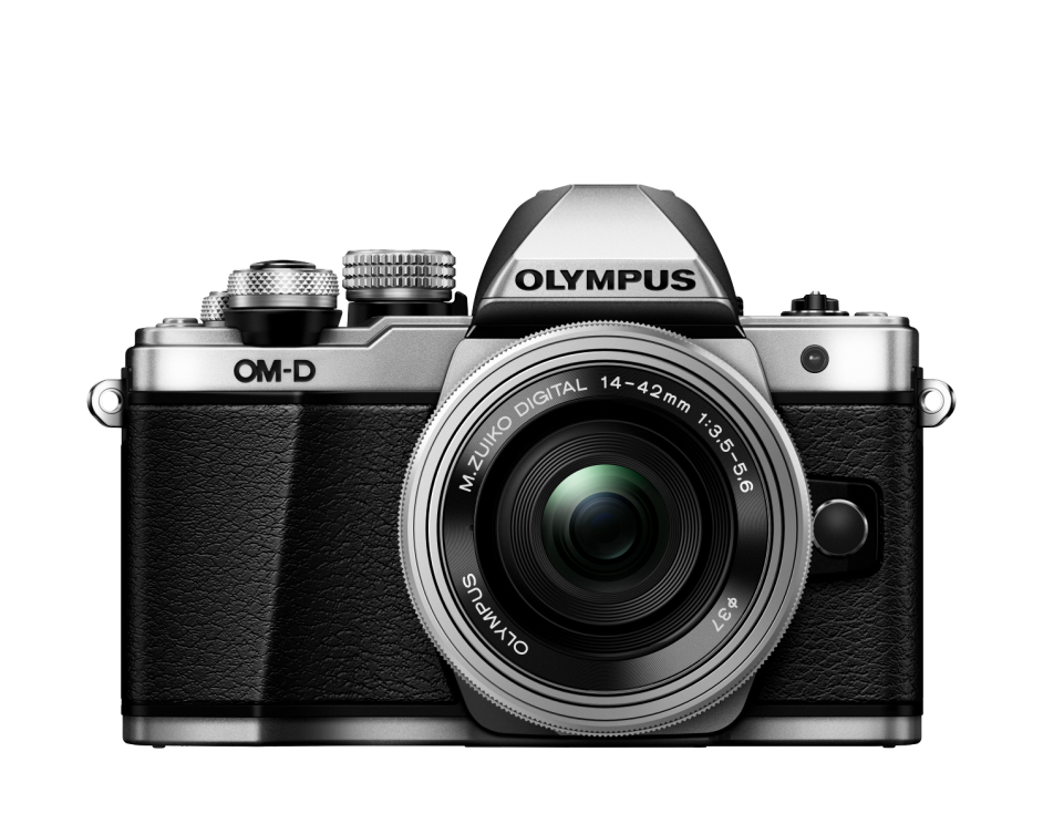 Фотоаппарат Olympus OM-D E-M10 Mark II Pancake Double Zoom Kit с объективами 14-42 EZ и 40-150mm серебристый (V207053SE000)