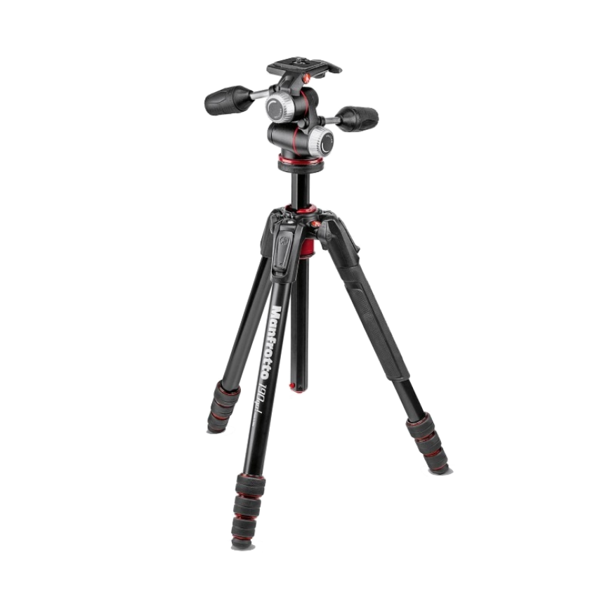 Штатив Manfrotto MK190GOA4-3WX черный (MFT-MK190GOA4-3WX) штатив manfrotto mvm500a