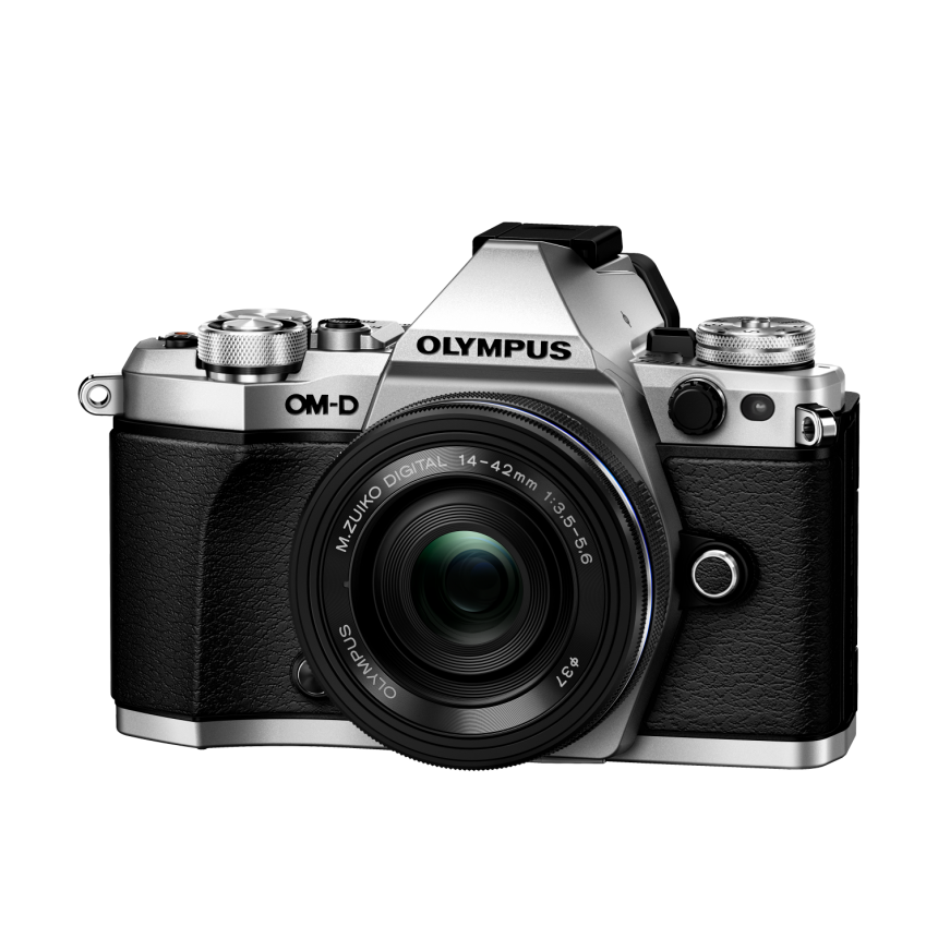 Фотоаппарат Olympus OM-D E-M5 Mark II Pancake Zoom Kit с объективом 14-42 EZ серебристый (V207044SE000) цена