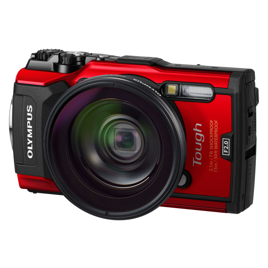 цена на Фотоаппарат Olympus Tough TG-5 красный ALL-IN-ONE Tough KIT (V104190RALL000)