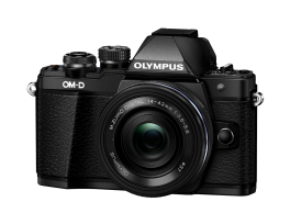 Фотоаппарат Olympus OM-D E-M10 Mark II Pancake Zoom Kit с 14-42 EZ черный (V207052BE000)