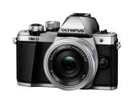 Фотоаппарат Olympus OM-D E-M10 Mark II Pancake Zoom Kit с 14-42 EZ серебристый (V207052SE000)