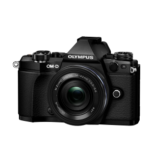 Фотоаппарат Olympus OM-D E-M5 Mark II Pancake Zoom Kit с объективом 14-42 EZ черный (V207044BE000)