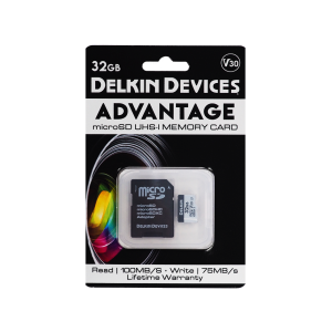 Карта памяти Delkin Devices Advantage microSDHC 32GB 660X UHS-I Class 10 V30