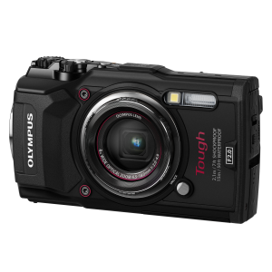 Фотоаппарат Olympus Tough TG-5 черный (V104190BE000)