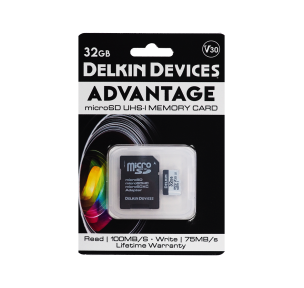 Карта памяти Delkin Devices Advantage microSDHC 32GB 660X UHS-I Class 3 V30