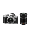 Фотоаппарат Olympus OM-D E-M10 Mark III Pancake Double Zoom Kit с объективами 14-42 EZ и 40-150mm серебристый (V207074SE000)