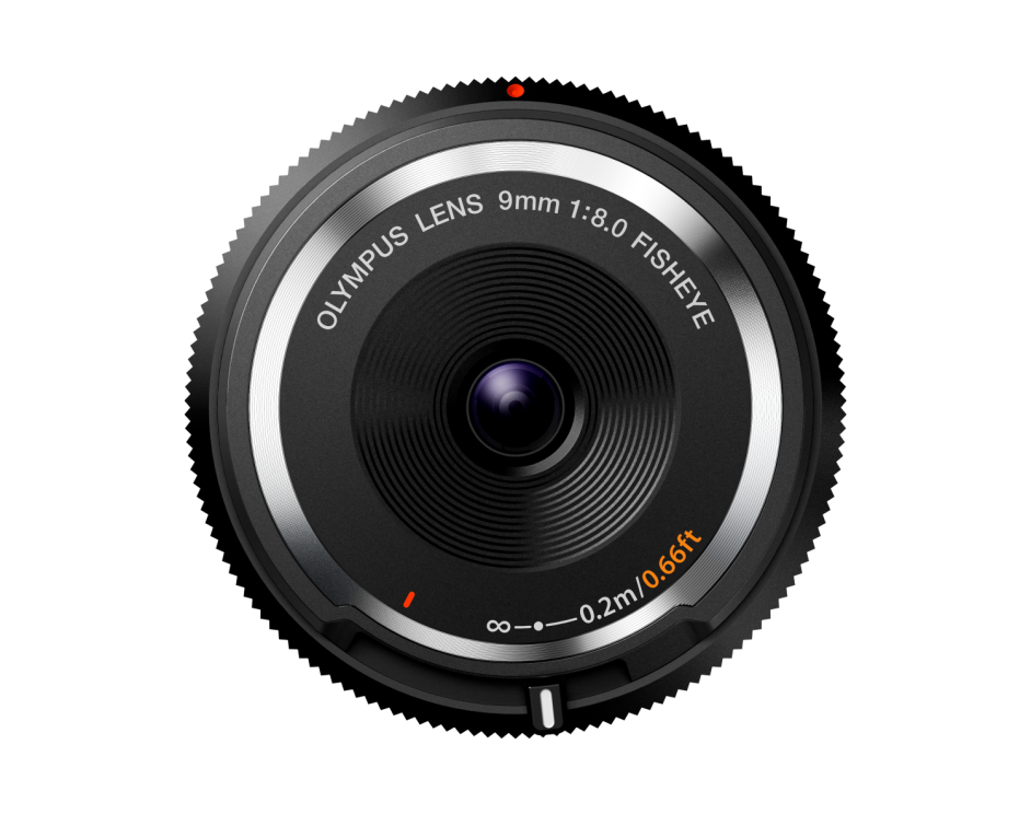 Объектив Olympus Body Cap Lens 9mm F1:8.0 (BCL-0980) черный (V325040BW000)