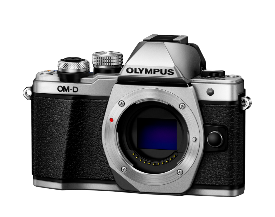 Фотоаппарат Olympus OM-D E-M10 Mark II Body серебристый (V207050SE000)