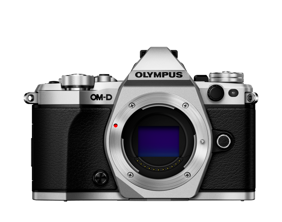 Фотоаппарат Olympus OM-D E-M5 Mark II Body серебристый (V207040SE000)