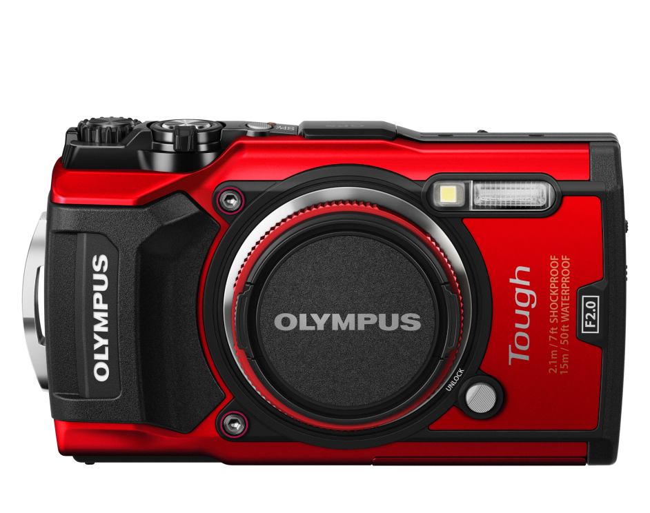 Фотоаппарат Olympus Tough TG-5 красный ALL-IN-ONE Tough KIT (V104190RALL000)