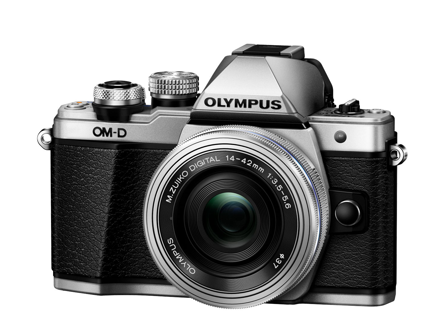 Фотоаппарат Olympus OM-D E-M10 Mark II Pancake Zoom Kit с 14-42 EZ серебристый (V207052SE000) фото