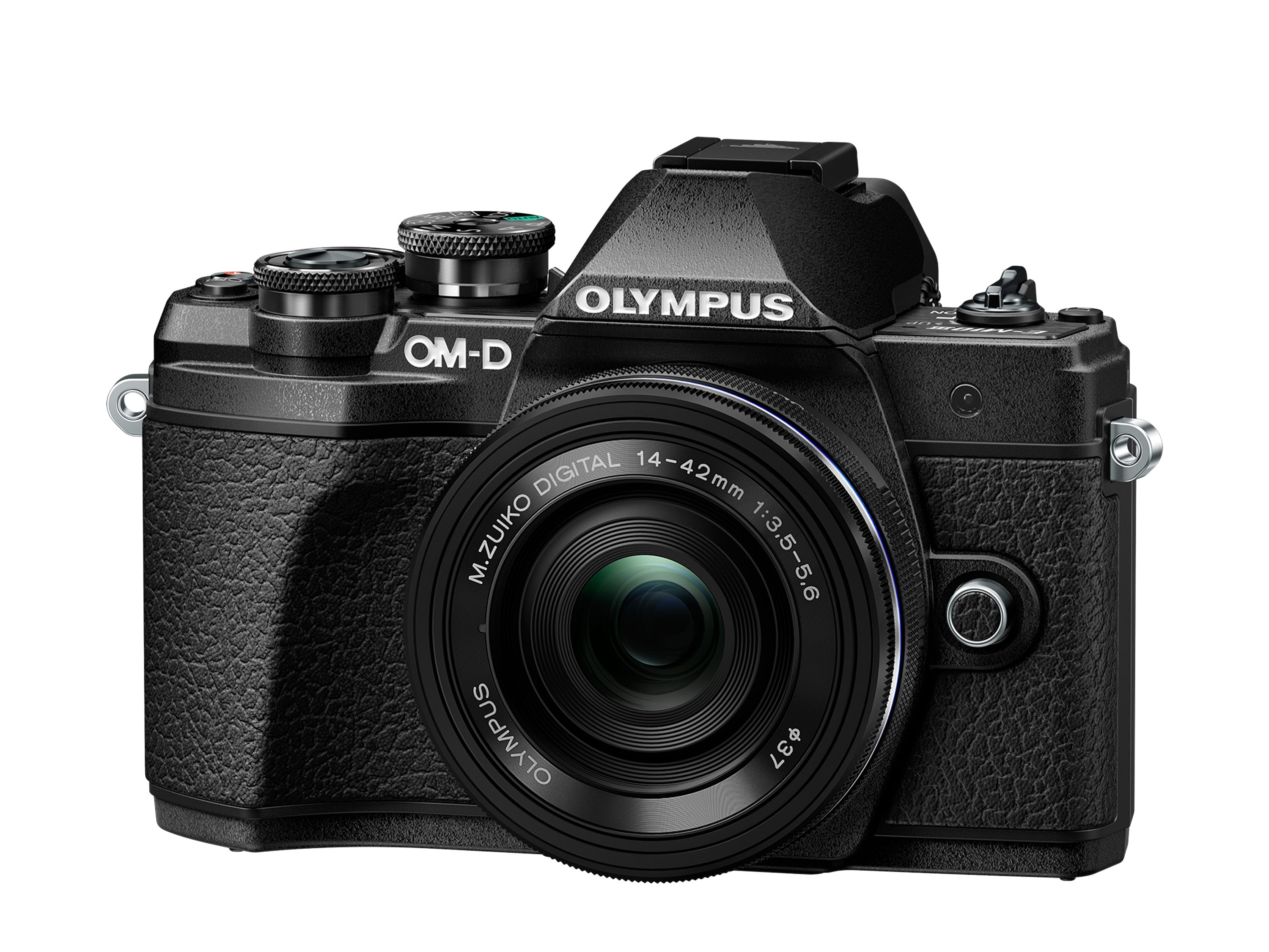 Фотоаппарат Olympus OM-D E-M10 Mark III Pancake Zoom Kit с 14-42 EZ черный (V207072BE000) фото