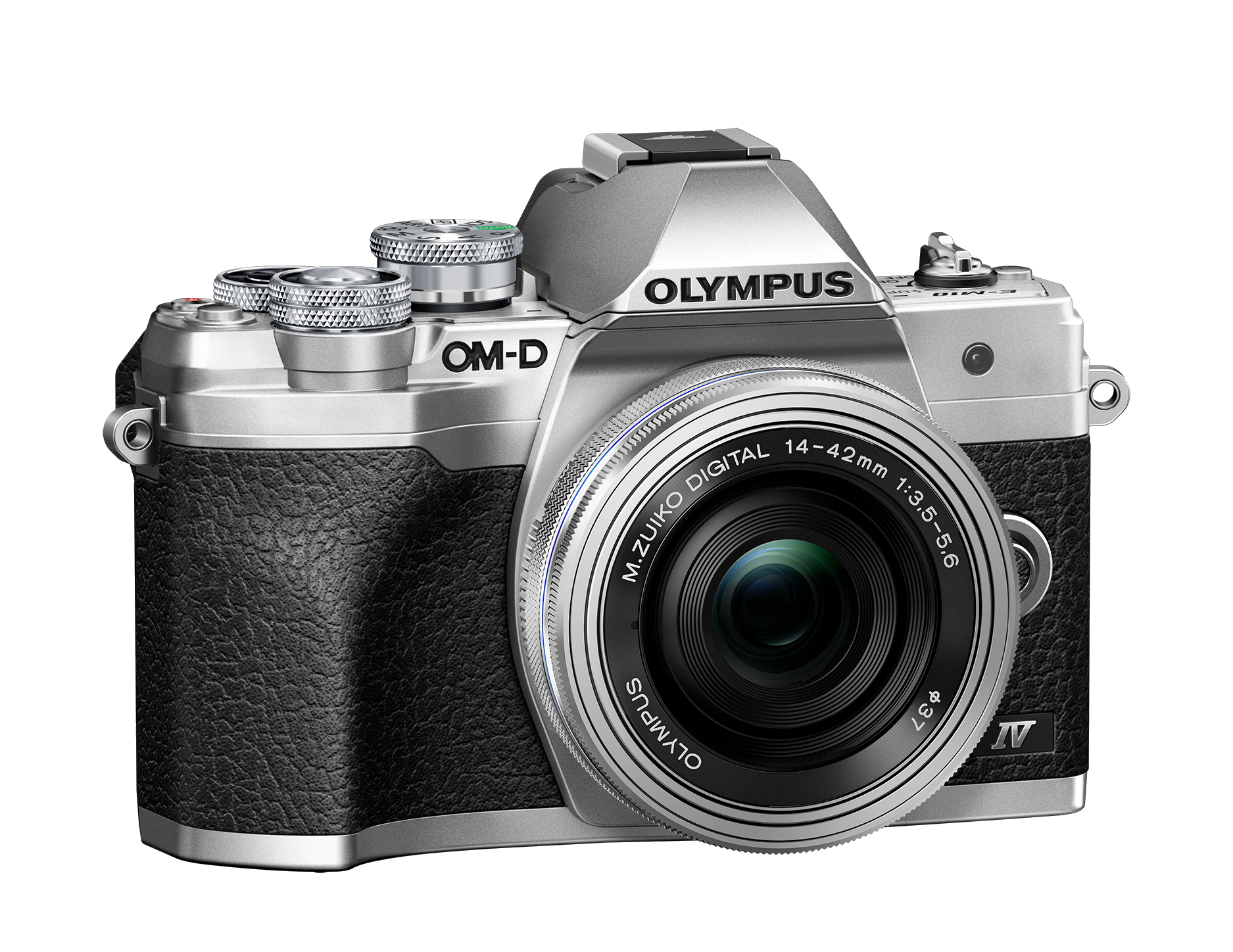 Фотоаппарат Olympus OM-D E-M10 Mark IV Pancake Zoom Kit с 14-42 EZ cеребристый (V207132SE000) фото