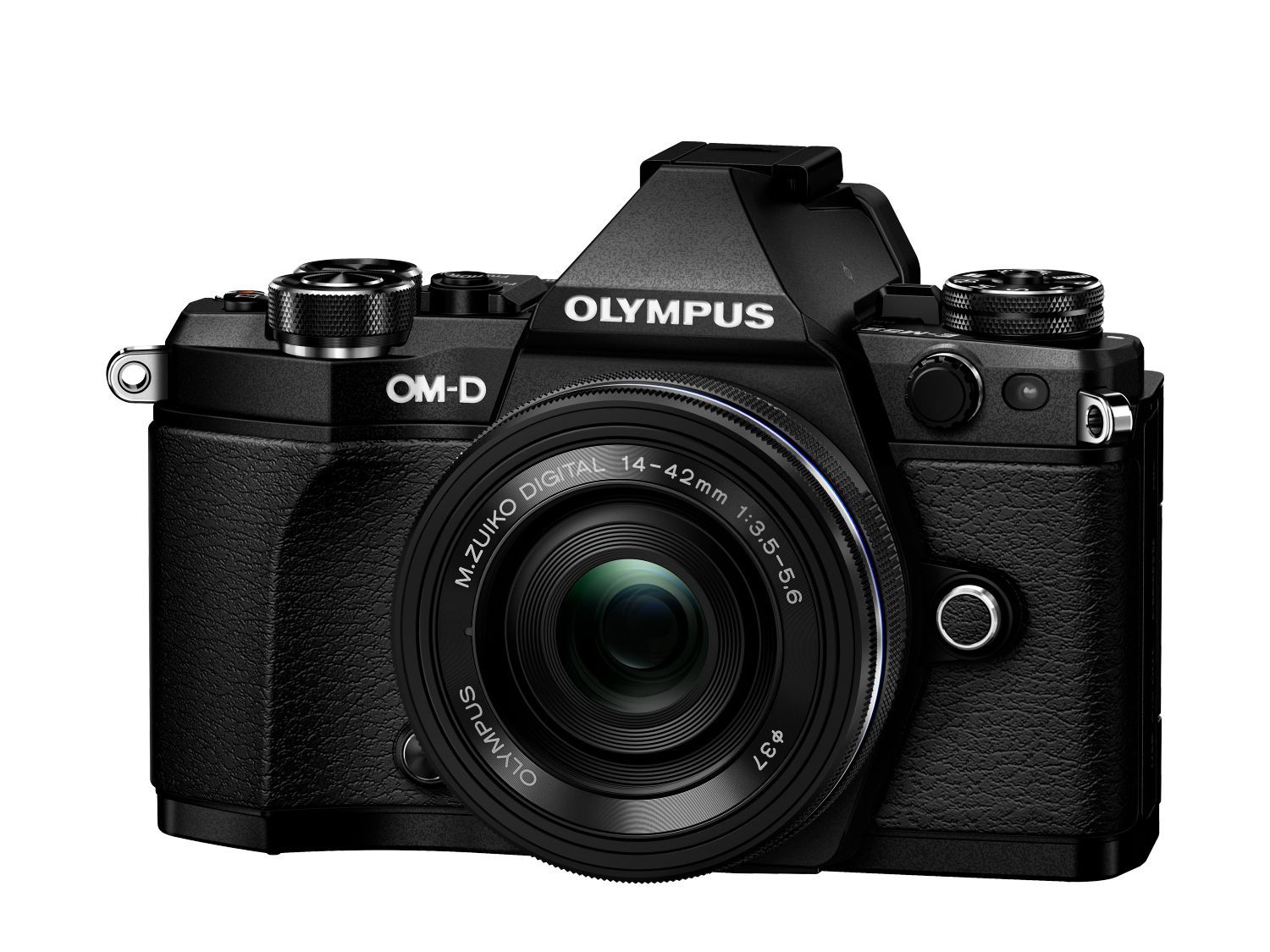 Фотоаппарат Olympus OM-D E-M5 Mark II Pancake Zoom Kit с объективом 14-42 EZ черный (V207044BE000) фото